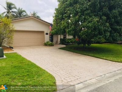 Coral Springs Single Family Home Backup Contract-Call LA: 11864 NW 31st St