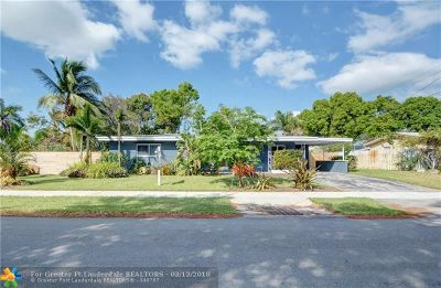 Fort Lauderdale Single Family Home For Sale: 3411 SW 20th St