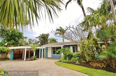 Wilton Manors Single Family Home Backup Contract-Call LA: 333 NE 27th Dr