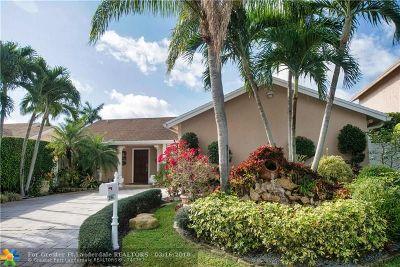 Boca Raton Single Family Home For Sale: 21854 Rainberry Park Cir