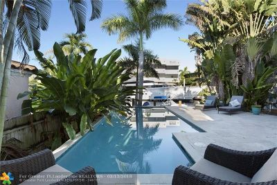 Fort Lauderdale Condo/Townhouse For Sale: 305 Isle Of Capri Dr #305