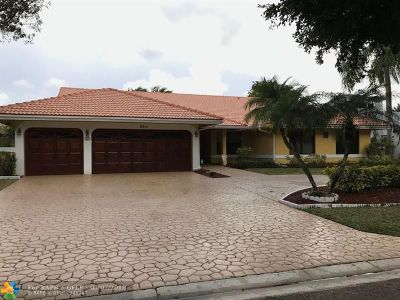 Coral Springs Single Family Home For Sale: 8314 NW 52nd Pl