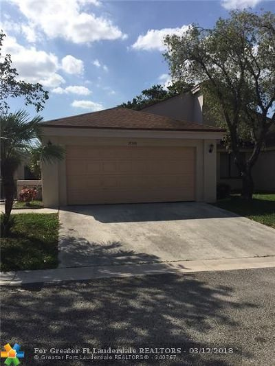 Coconut Creek Single Family Home For Sale: 2081 NW 37th Ave