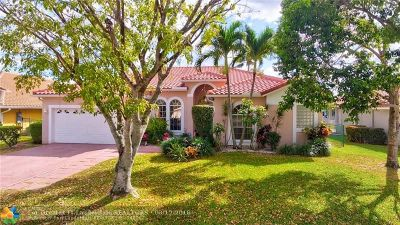 Coral Springs Single Family Home For Sale: 4825 NW 57th Ln