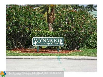 Coconut Creek Condo/Townhouse For Sale: 1605 Abaco Dr #F3