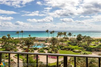 Lauderdale By The Sea Condo/Townhouse For Sale: 5100 N Ocean Blvd #617