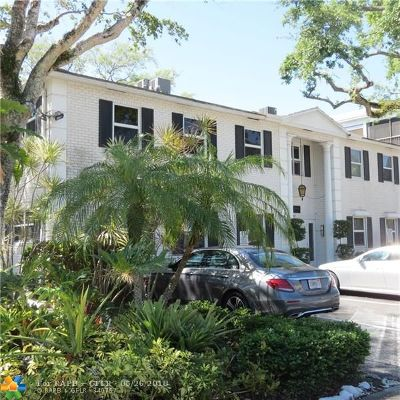 Fort Lauderdale Condo/Townhouse For Sale: 1280 SE 2nd Ct #4