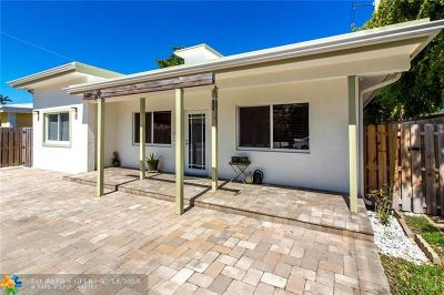 Fort Lauderdale Single Family Home For Sale: 1129 NE 16th St