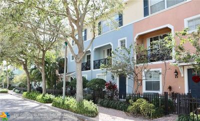 Delray Beach Condo/Townhouse For Sale: 78 NW 3rd Ave #78