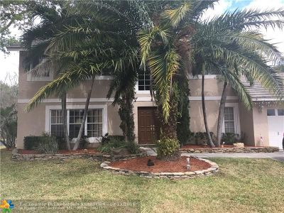 Coconut Creek Single Family Home For Sale: 3933 NW 55th St