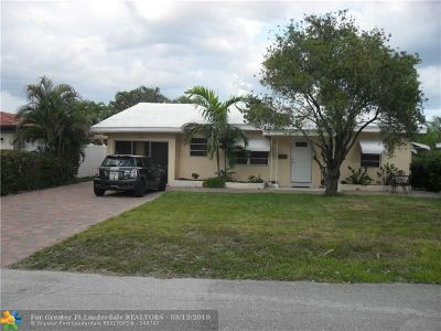 Deerfield Beach Single Family Home For Sale: 348 SE 18 Avenue