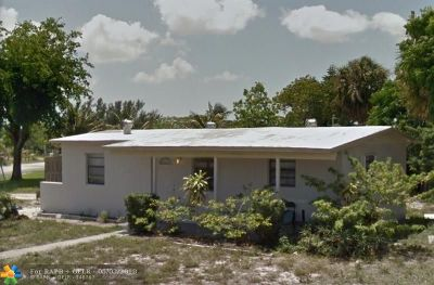 Pompano Beach Single Family Home For Sale: 1492 NE 53rd Ct
