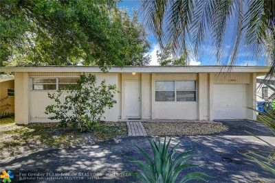 Sunrise Single Family Home For Sale: 11940 NW 33rd St
