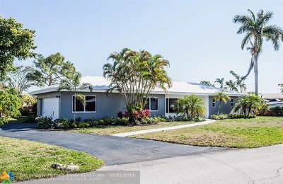 Fort Lauderdale Single Family Home For Sale: 5725 NE 17th Ave