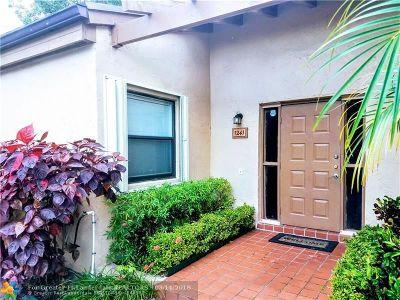 Pembroke Pines Condo/Townhouse Backup Contract-Call LA: 1241 NW 98th Ter #146
