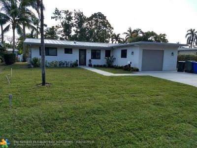Fort Lauderdale Single Family Home For Sale: 2606 Tortugas Ln