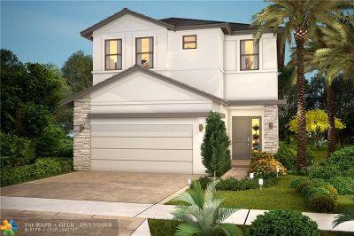 Dania Beach Single Family Home For Sale: 4907 Whispering Way