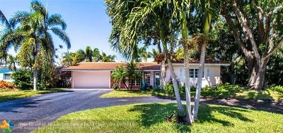 Fort Lauderdale Single Family Home For Sale: 1719 NE 58th St