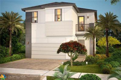 Dania Beach Single Family Home For Sale: 4915 Whispering Way
