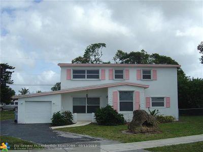 Pompano Beach Single Family Home Backup Contract-Call LA: 3050 NE 1st Ave