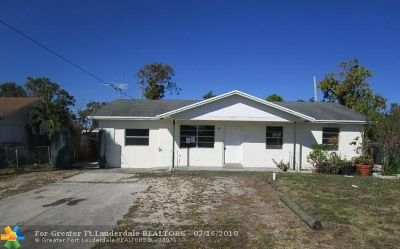 Pompano Beach Single Family Home For Sale: 1731 NW 1st Ter