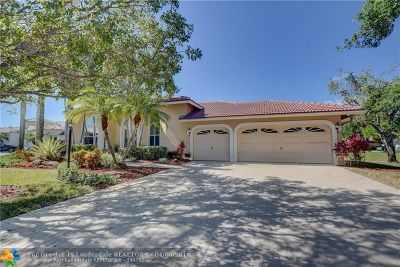 Parkland Single Family Home For Sale: 6429 NW 99th Dr