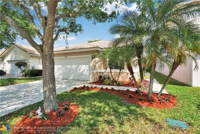 Coconut Creek Single Family Home For Sale: 3693 NW 63rd Ct