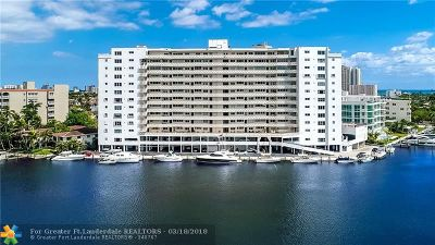 Fort Lauderdale Condo/Townhouse For Sale: 333 Sunset Dr #906