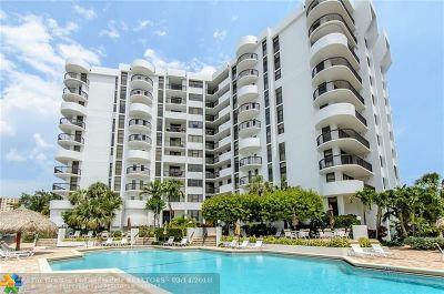 Pompano Beach Condo/Townhouse For Sale: 1361 S Ocean Blvd #1001
