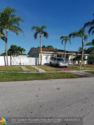 North Lauderdale Single Family Home Backup Contract-Call LA: 300 SW 77th Ave