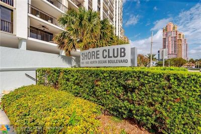 Fort Lauderdale Condo/Townhouse For Sale: 1905 N Ocean #8-E