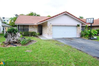 Coral Springs Single Family Home For Sale: 2898 NW 95th Ave