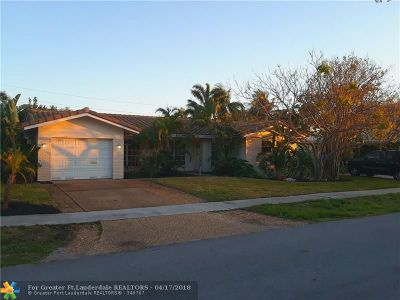 Fort Lauderdale Single Family Home For Sale: 2128 NE 64th St