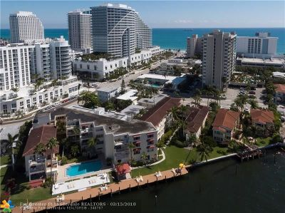 Fort Lauderdale Condo/Townhouse For Sale: 341 N Birch Rd #206