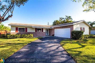 Coral Springs Single Family Home For Sale: 7807 NW 39th St