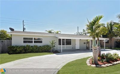 Deerfield Beach Single Family Home For Sale: 100 SE 10th Ct