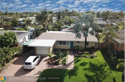 Fort Lauderdale Single Family Home For Sale: 2442 Sugarloaf Ln