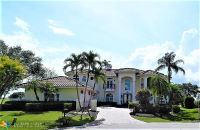 Coral Springs FL Single Family Home For Sale: $1,200,000