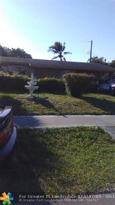 Lauderhill Single Family Home Backup Contract-Call LA: 1841 NW 36th Ave