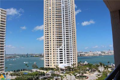 Miami Condo/Townhouse For Sale: 540 Brickell Key Dr #1413