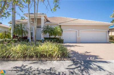 Coral Springs Single Family Home For Sale: 5658 NW 109th Ln