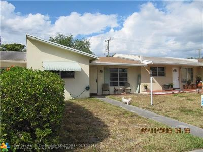 Hollywood Single Family Home For Sale: 824 N Golf Dr