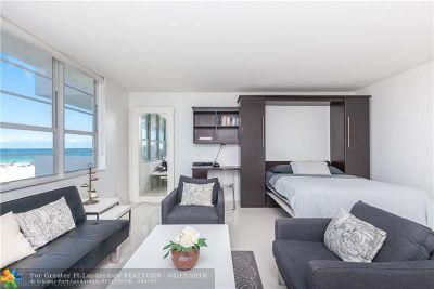 Miami Beach Condo/Townhouse For Sale: 100 Lincoln Rd #806