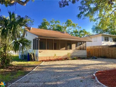 Fort Lauderdale Single Family Home For Sale: 1415 SW 24th Ct