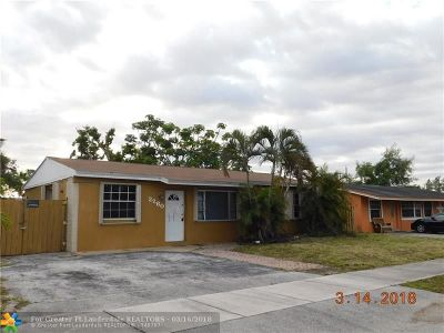 Fort Lauderdale Single Family Home For Sale: 2260 SW 42nd Ter
