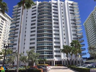Fort Lauderdale Condo/Townhouse For Sale: 3430 Galt Ocean Drive #1008