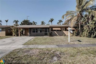 Pembroke Pines Single Family Home For Sale: 6881 SW 1 Ct