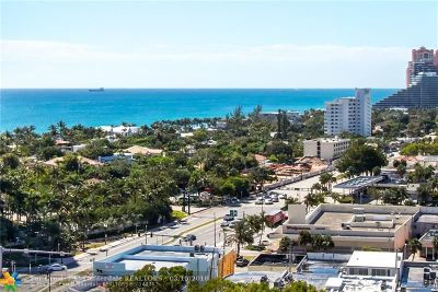 Fort Lauderdale Condo/Townhouse For Sale: 3333 NE 34th St #1712