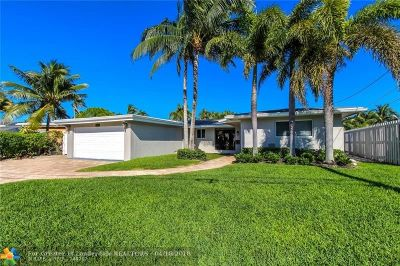 Pompano Beach Single Family Home For Sale: 1350 SE 3rd Ave