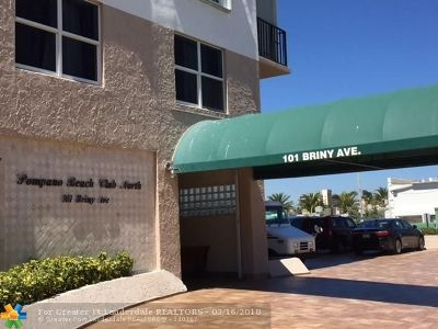 Pompano Beach FL Condo/Townhouse For Sale: $399,000
